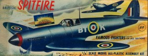 The Original BT-K The Aurora 1/48 scale Release. Airfix scaled this down