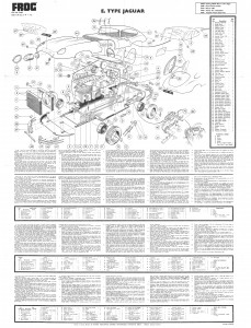 The Frog Instruction sheet for the E-Type
