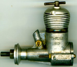 The Frog 150 Flying model Engine