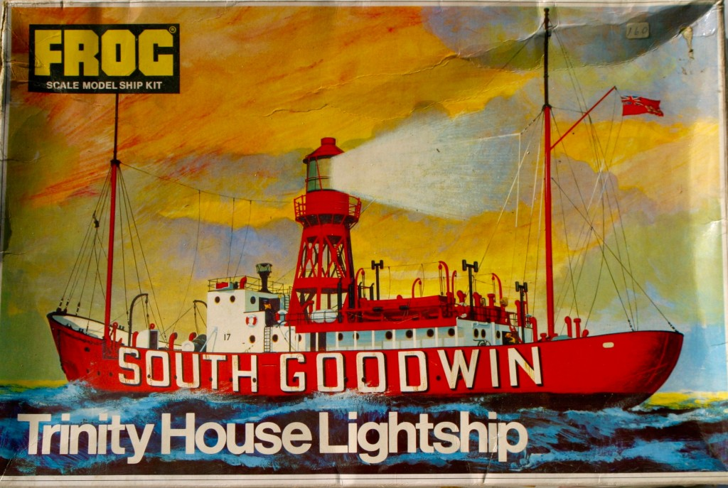 First released in 1962 this is Frog's Trinity House Lightship