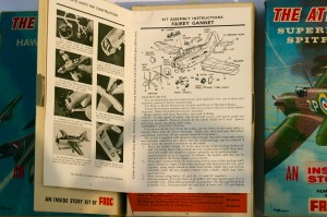 Part of the attached book had illustrated instructions. These are from the Fairy Gannet