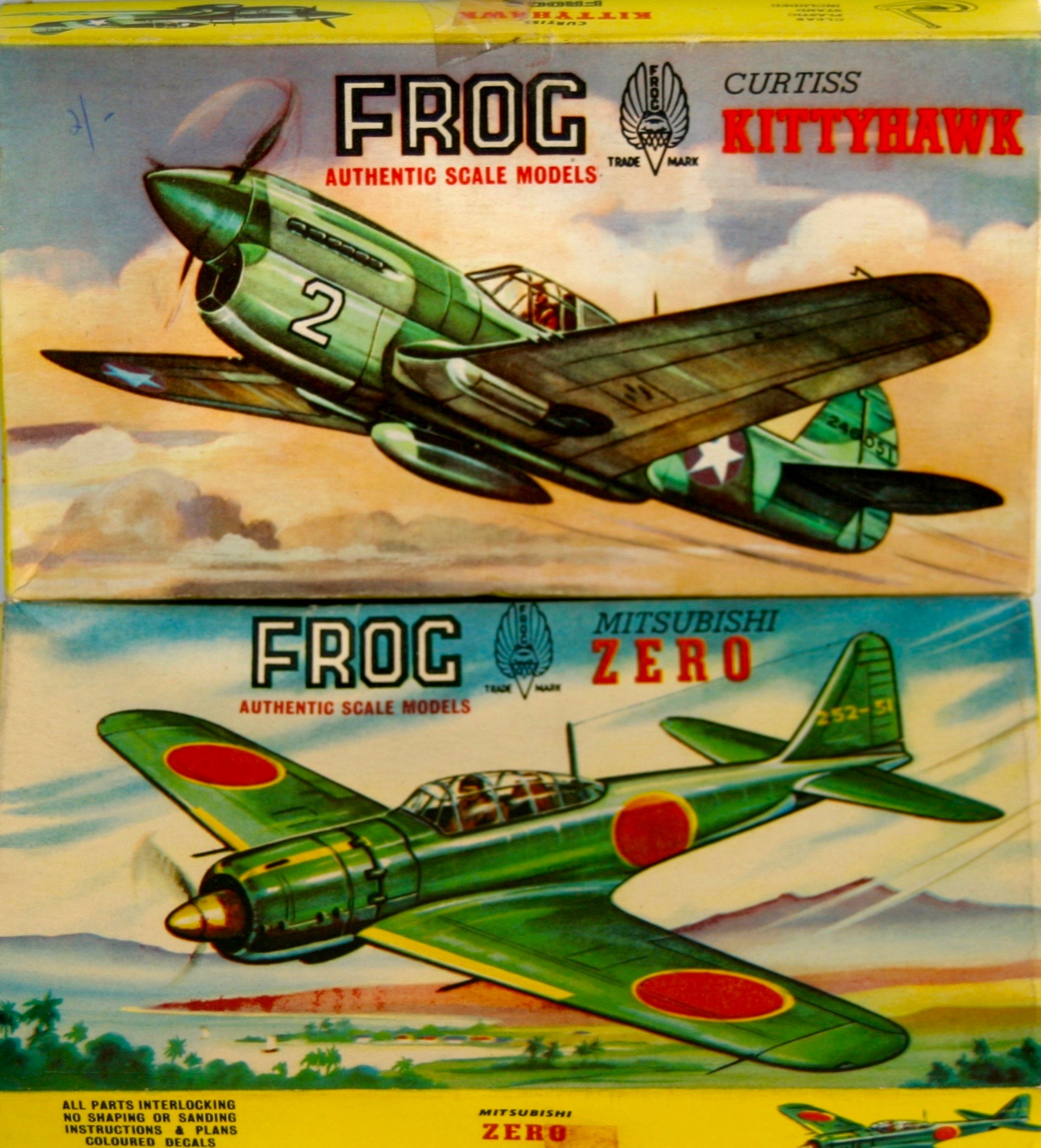 Gallery One Updated Frog Model Aircraft