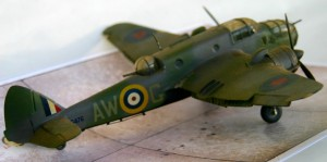 With a bit of extra work this Beaufort is a stunning Model.