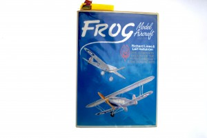 My very thumbed copy of Frog Model Aircraft 1932 to 1976 Note all the markers. Without this wonderful book this site would not exist