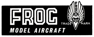 FROG Model Aircraft logo, 1950s