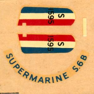 Supermarine S6B 1-6